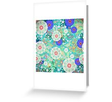 Bouquet Floral  Greeting Card