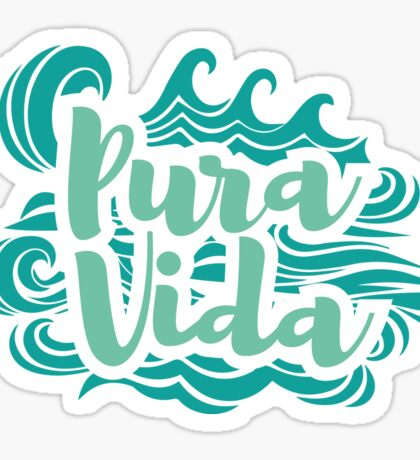 Pura vida waves 3 Sticker