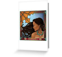 Roll In All The Riches (Autumn Nouveau)  Greeting Card