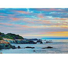 Sea Ranch Evening Coast, Sea Ranch, CA Photographic Print