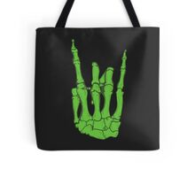 Skeleton hand | Green Tote Bag