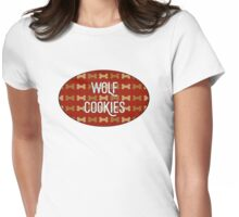 Wolf Cookies Womens Fitted T-Shirt