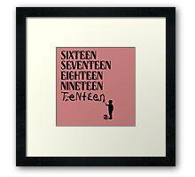 Tenteen Framed Print