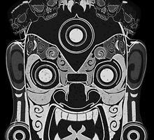 Black Demon Shirt by Artsworth
