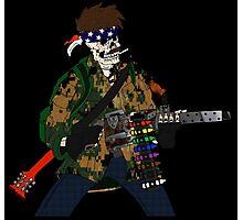 Combat Crayon Photographic Print