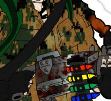Combat Crayon Sticker