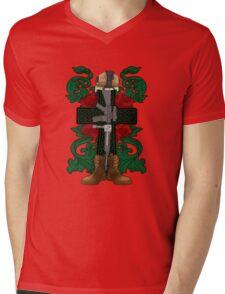 Battle Cross for Shirts Mens V-Neck T-Shirt