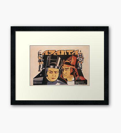 Aelita - Soviet Science Fiction Framed Print
