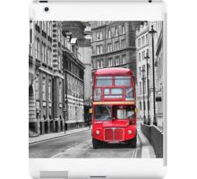Traditional Red London Bus iPad Case/Skin