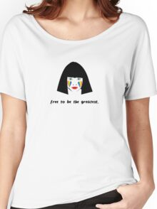 Sia - Maddie - Free To Be The Greatest Women's Relaxed Fit T-Shirt