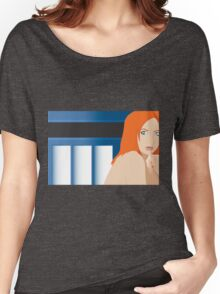 Blue Pond Pin Up Women's Relaxed Fit T-Shirt