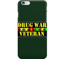 drug war veteran iPhone Case/Skin