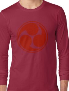 Mitsu Tomoe - Japan - Shinto Trinity Symbol - Triskele Long Sleeve T-Shirt