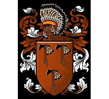 New World Coat of Arms Photographic Print