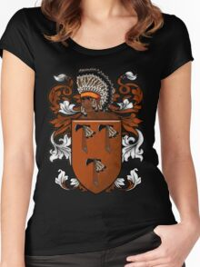 New World Coat of Arms Women's Fitted Scoop T-Shirt
