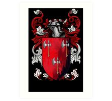 The Coat of Arms Art Print