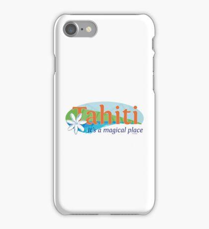 Tahiti, it's a magical place iPhone Case/Skin