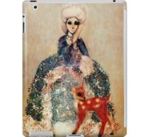 Fairies of Versailles Fawn in winter iPad Case/Skin