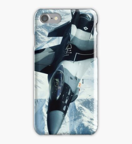 F-16 fighting falcon case iPhone Case/Skin