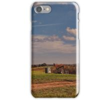 Across the country farmland iPhone Case/Skin