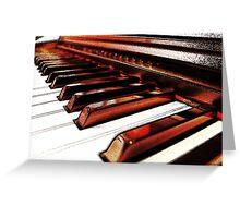 Chamber Music Greeting Card