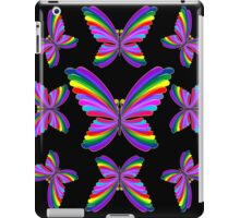 Butterfly Psychedelic Rainbow iPad Case/Skin