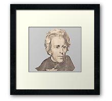 Portrait of Andrew Jackson Framed Print