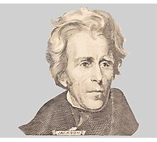 Portrait of Andrew Jackson Photographic Print