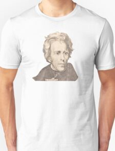 Portrait of Andrew Jackson Unisex T-Shirt