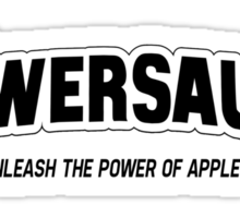 POWERSAUCE - APPLESAUCEOCITY! Sticker