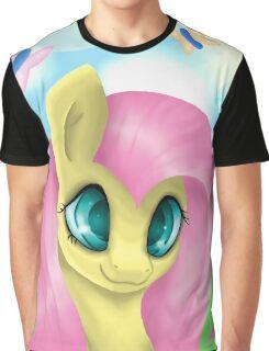 Fluttershy Portrait Graphic T-Shirt