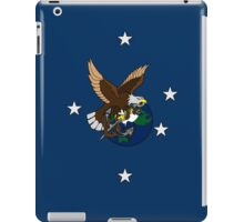 Eagle Globe and Anchor Retro Tattoo iPad Case/Skin
