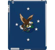 Eagle Globe and Anchor Retro Tattoo iPad Case/Skin