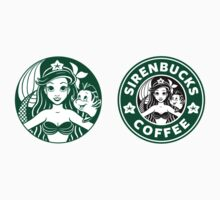 Sirenbucks Mini Sticker Pack by Ellador