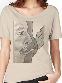 Cigarette on your lips Women's Relaxed Fit T-Shirt