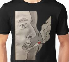 Cigarette on your lips Unisex T-Shirt