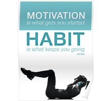 Motivation and Habit Poster