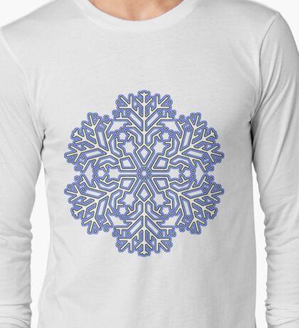Cool Snowflakes Long Sleeve T-Shirt