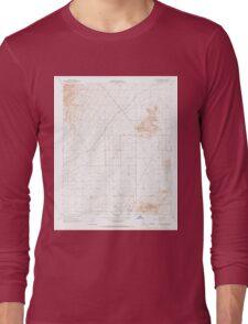USGS TOPO Map California CA Willow Springs 301388 1965 24000 geo Long Sleeve T-Shirt