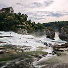 Above the Rheinfall - Switzerland by Mark Heller