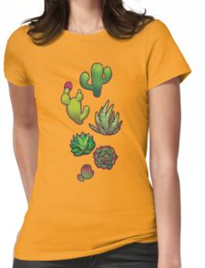 Cactus Assembly Womens Fitted T-Shirt