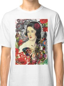 Of Roses and Butterflies Classic T-Shirt