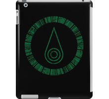 Crest of Sincerity iPad Case/Skin