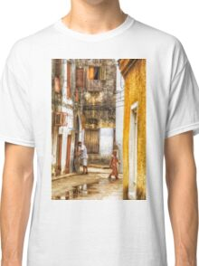 Kids in Stone Town Alley Classic T-Shirt