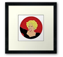 Love Bette Framed Print