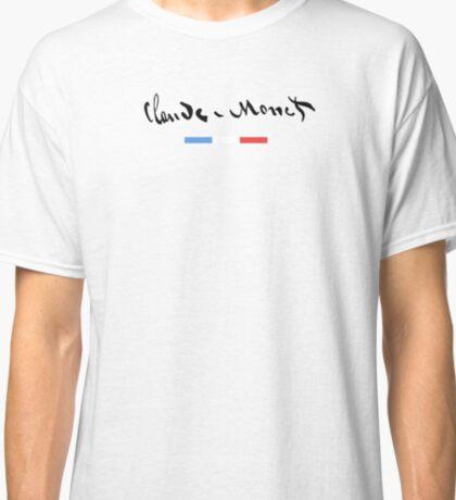 Claude Monet - Signature 06 Classic T-Shirt