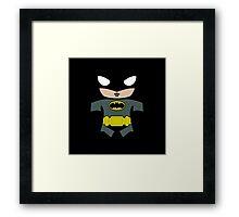 Funny Batman Framed Print