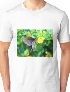 Butterfly Side View Unisex T-Shirt