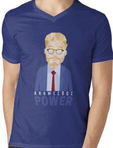 Adam ruins everything. Amazing trending design. Mens V-Neck T-Shirt