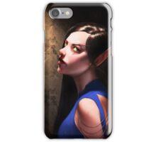 Blood Elf Portrait #1 iPhone Case/Skin